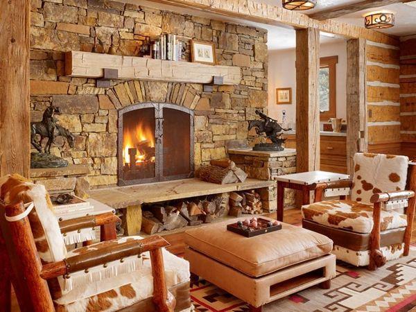 Stilul rustic in designul de interior