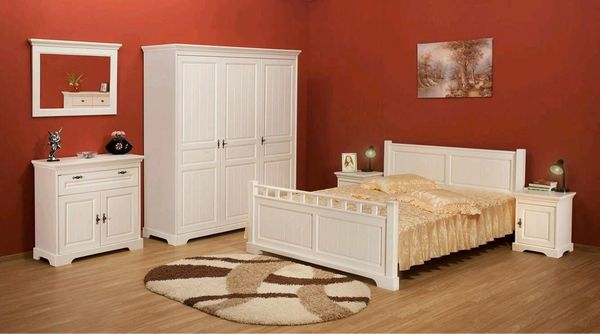 Mobila alba pentru dormitor - idei pentru amenajari interioare deosebite